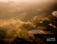 Balloons on the Prairies