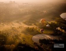 Balloons on the Prairies