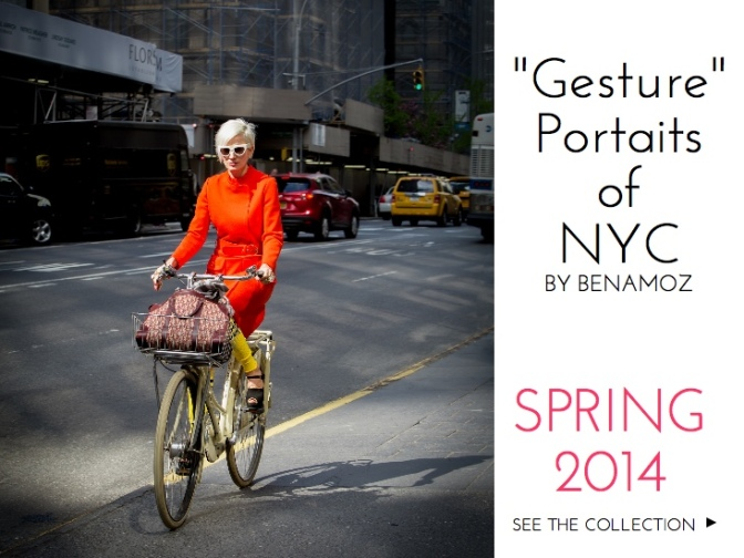 """Gesture"" Portraits of NYC"